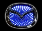 3D led эмблема Mazda