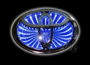 3D led эмблема Toyota