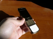 NOKIA 8800 ARTE GOLD-WHITE RUSSIAN