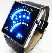 Квадратные бинарные часы