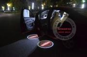 Лазерная проекция в двери вашего автомобиля (2 двери)